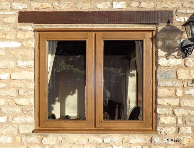 oak stormproof windows