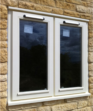wooden stormproof windows